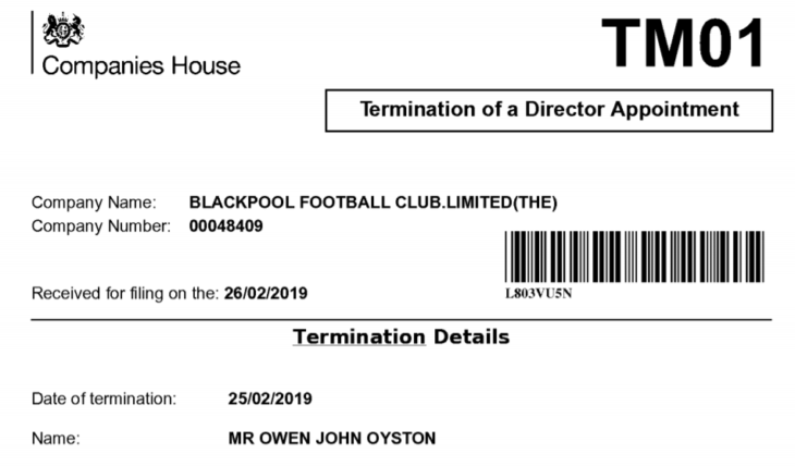 Owen Oyston termination