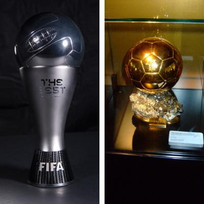 Ballon d'Or vs The Best FIFA Men's player