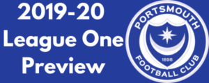 Portsmouth FC 2019-20 League One Preview
