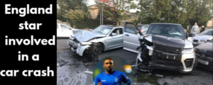 Rangers star Jermain Defoe was involved in a car crash