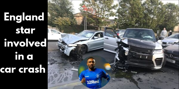 Defoe involved in an accident