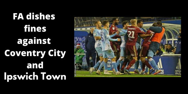 Coventry vs Ipswich fight