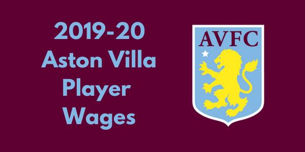 Aston villa Player Wages