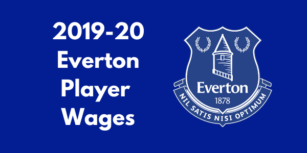 Everton Player Wages