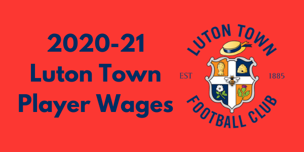 Luton Town 2020-21 Player Wages