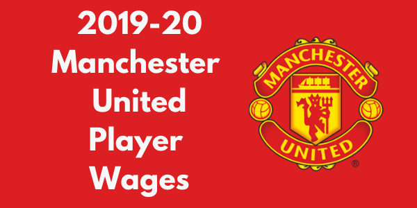 Manchester United 2019-20 Player Wages
