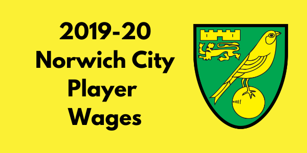 Norwich City 2019-20 Player Wages