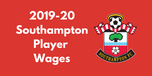 Southampton FC 2019-20 Player Wages