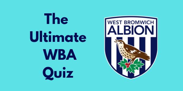 The Ultimate WBA Quiz