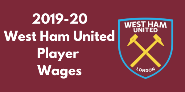 West Ham United 2019-20 Player Wages