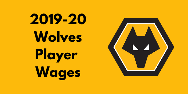 Wolverhampton Wanderers 2019-20 Player Wages