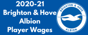 Brighton & Hove Albion 2020-21 Player Wages