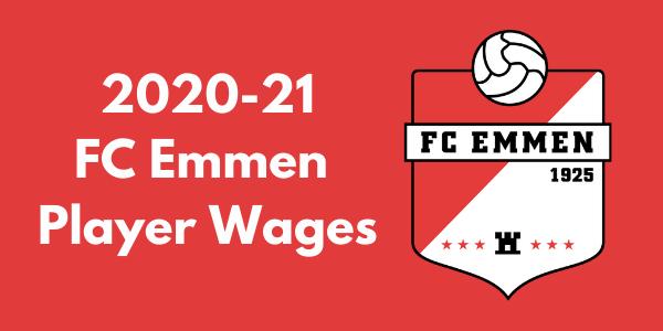 FC Emmen 2020-21 Player Wages