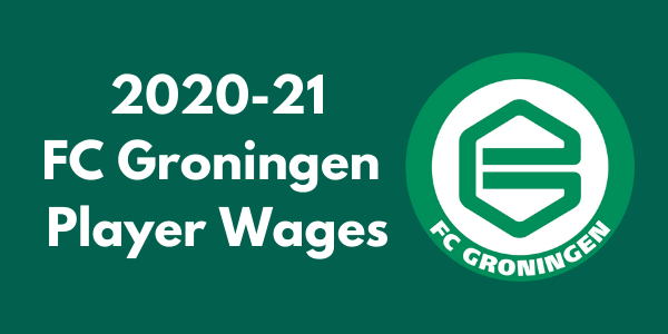 FC Groningen 2020-21 Player Wages