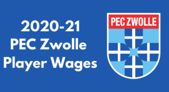 Pec Zwolle Spelers Salaries Football League Fc