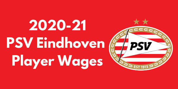 PSV Eindhoven 2020-21 Player Wages