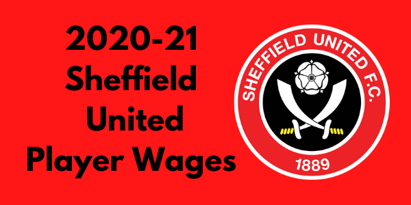Sheffield United 2020-21 Player Wages