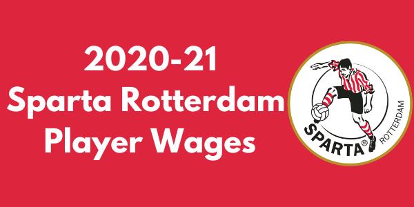 Sparta Rotterdam 2020-21 Player Wages