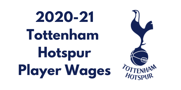 Tottenham Hotspur 2020-21 Player Wages