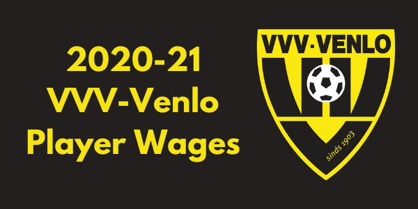 VVV-Venlo 2020-21 Player Wages