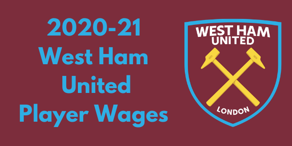 West Ham United 2020-21 Player Wages