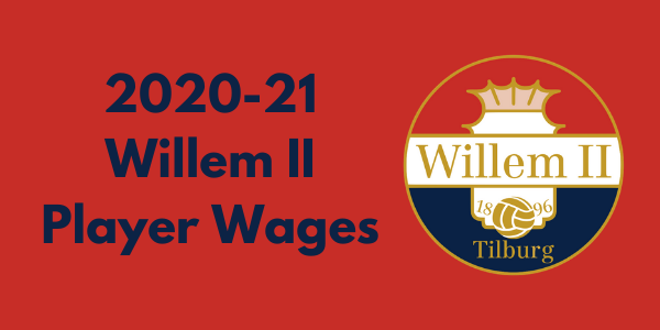 Willem II Tilburg 2020-21 Player Wages