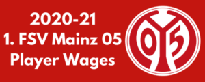 Mainz 05 2020-21 Player Wages