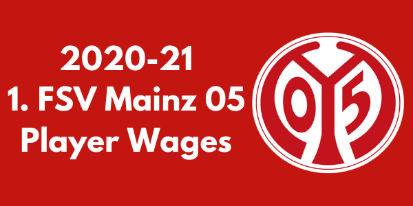 Mainz 05 Player Wages