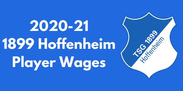 1899 Hoffenheim Player Wages