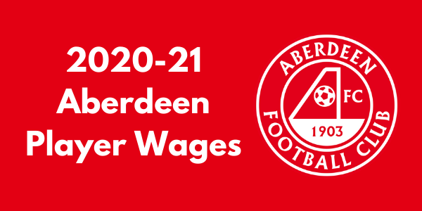 Aberdeen FC Player Wages