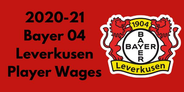Bayer Leverkusen Player Wages