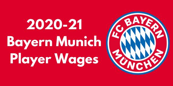 Bayern Munich Player Wages