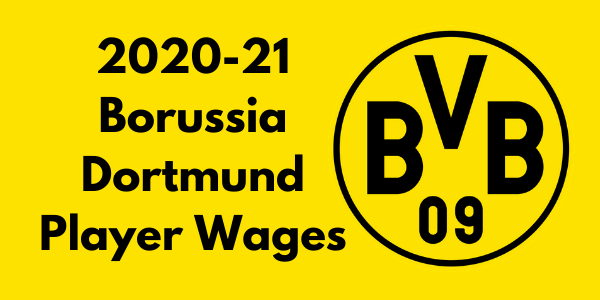 Borussia Dortmund Player Wages
