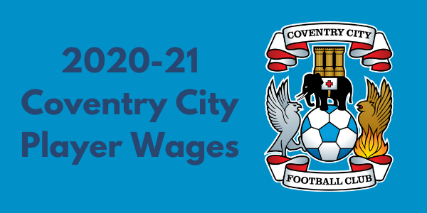 Coventry City FC Player Wages