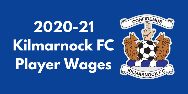 Kilmarnock FC Player Wages