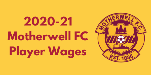 Motherwell FC Player Wages