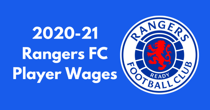 Rangers FC Player Wages