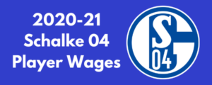 Schalke 04 2020-21 Player Wages