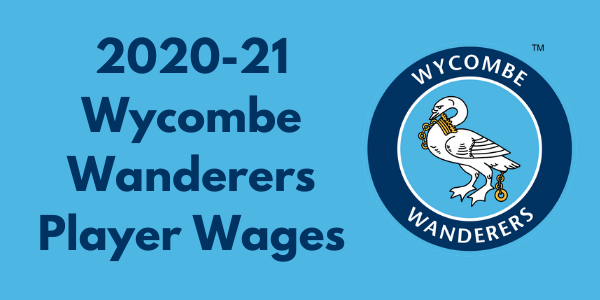 Wycombe Wanderers 2020-21 Player Wages