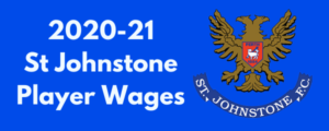St. Johnstone FC 2020-21 Player Wages