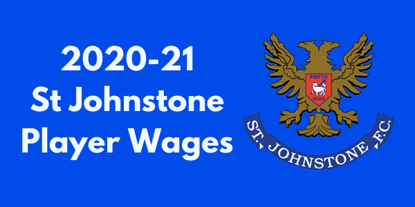 St. Johnstone FC Player Wages